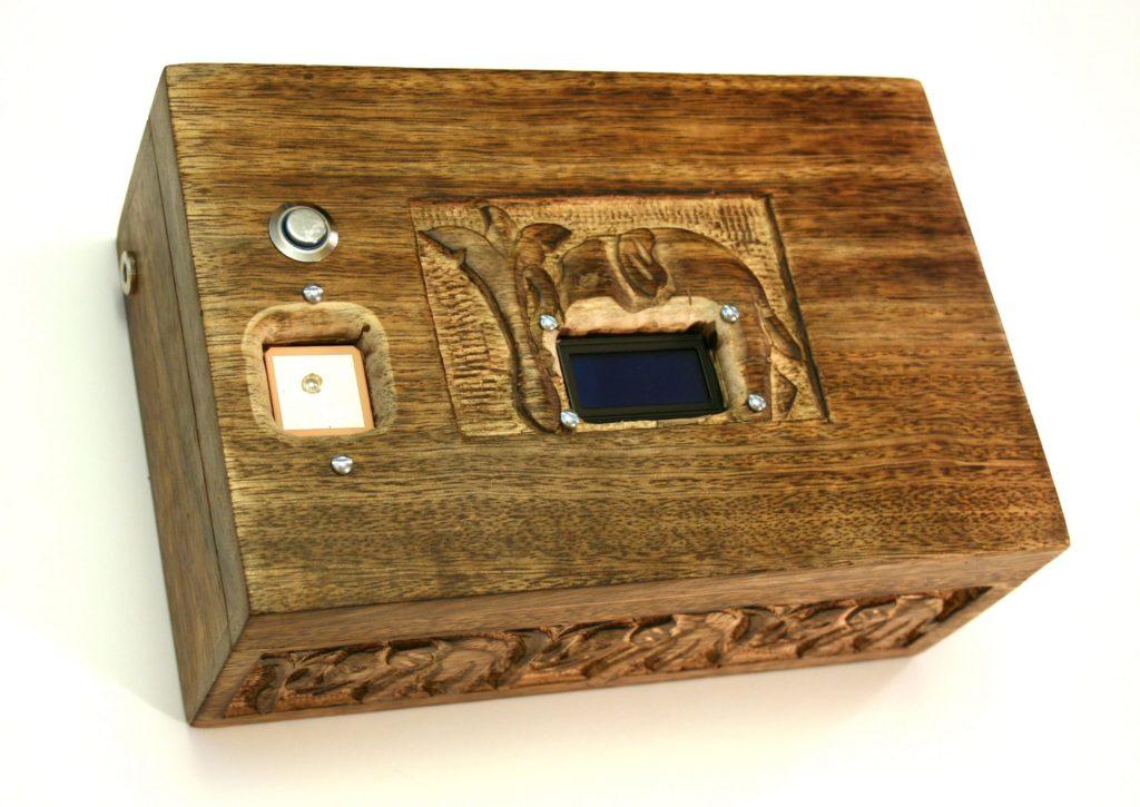 Reverse Geocahce Box